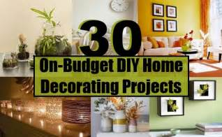 easy home projects for home decor 30 on budget diy home decorating projects diy home life creative ideas for home garden