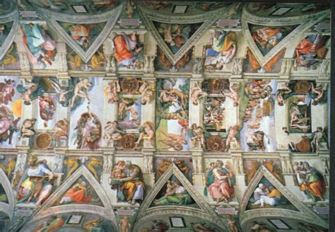 Picture Of Sistine Chapel Ceiling by Informed Catholic Voter Restoring Great Catholic Artwork