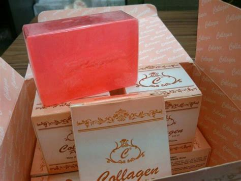 Collagen Colagen Plus Vit E Whitening Soap collagen plus vit e whitening soap for face nose