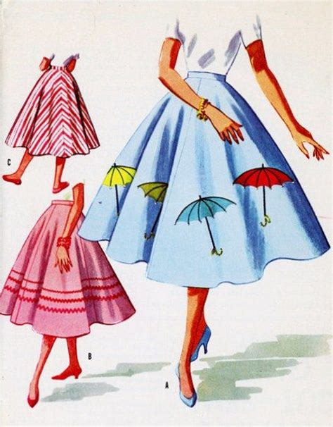 umbrella pattern sewing vintage sewing vintage sewing patterns and circle skirts