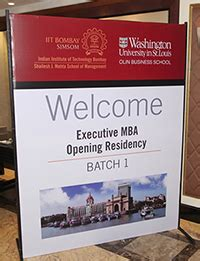 International Executive Mba Programs In India by U S India Joint Emba Program Begins The Source