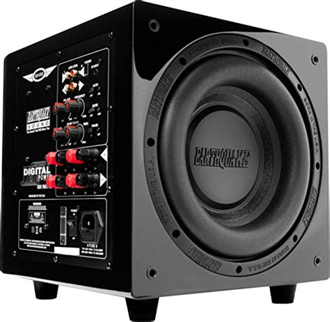 Speaker V8 Minime earthquake sound minime p12 v2 12 inch passive tuned powered mini subwoofer