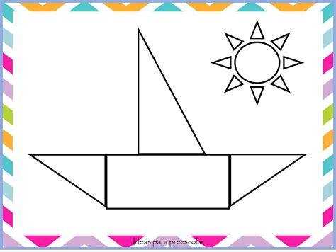 imagenes figuras geometricas ideas para preescolar dibujos con figuras geom 233 tricas