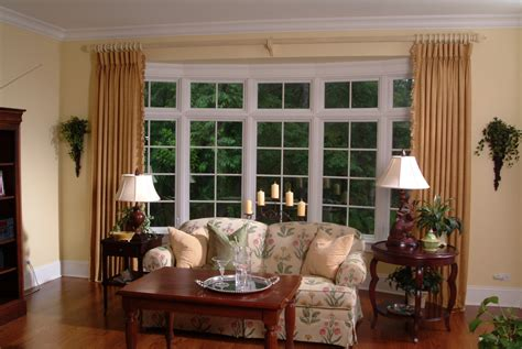 Windows Family Room Ideas Ideas For Kitchen Window Treatments Home Intuitive