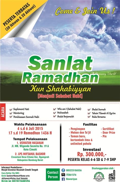 remaja bandung come joint us di sanlat ramadhan kun
