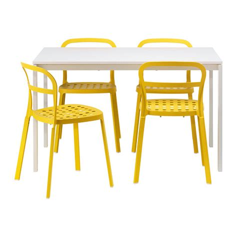 melltorp reidar table and 4 chairs ikea