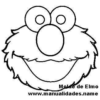 elmo cake template google search   elmo elmo