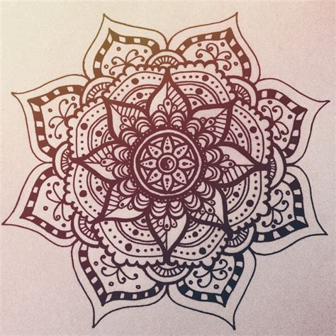 simple mandala tattoo mandala mandala