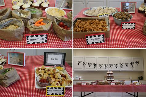 farm themed birthday food farm birthday party savored grace