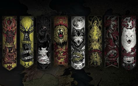 got houses houses best game of thrones wallpapers