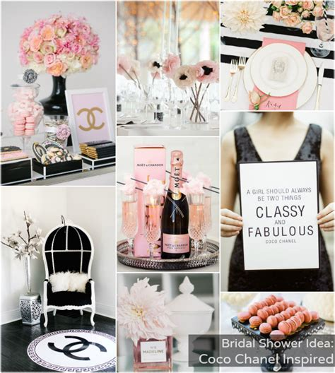 Chanel Bridal Shower by Bridal Shower Theme Coco Chanel Inspired Bajan Wed