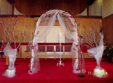 Wedding Altar Decorations by The Royal Weddings