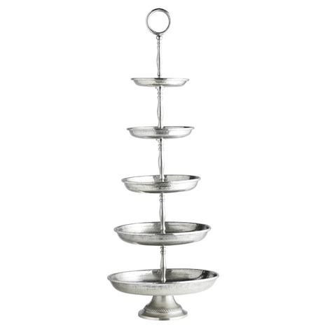 Etagere 2 Stöckig Silber by Silver Etagere In Two Sizes By Out There Interiors