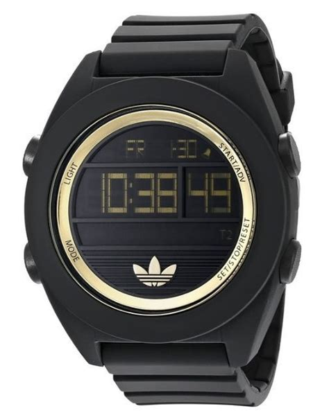 Adidas Digital Hitam Gold best selling adidas watches for gracious