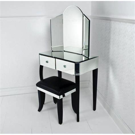 mirrored makeup storage   stylish   unclutter  vanity table  bathroom decor