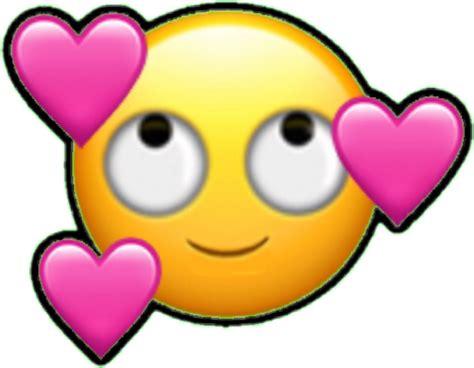 imagenes emoji enamorado emoji emoticono emoticon cara enamorado corazon corazon