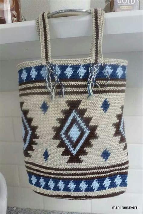 Coffee Slemp Crochet Bag Tas Rajut 528 best images about mochila en tapestry voorbeelden exles on
