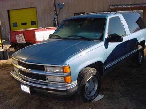 Expedition E 6724 Black 1996 chevy tahoe 2 door 5495 montague cars trucks