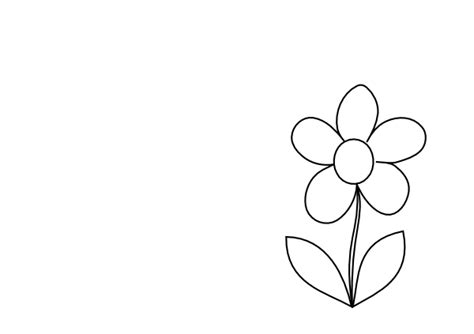 small simple flower clip art  clkercom vector clip