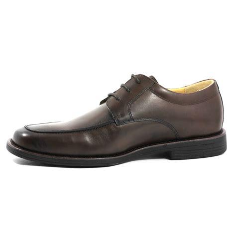 mens comfort shoes uk steptronic azure oxford lace up mens comfort shoe brown