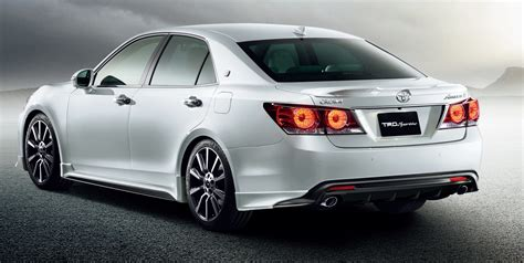 toyota crown trd offers neat accessory packages for 2016 toyota crown