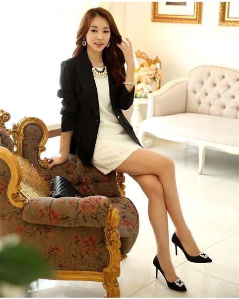 Bzjt217090507244 Blazer Hitam Korea Blazer Putih Termurah model blazer wanita korea newhairstylesformen2014