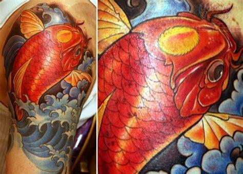koi tattoo traditional koi tattoo images designs
