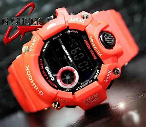 Jam Tangan Pria Sporty Best Seller Casio G Shock Bumblebee Black casio g shock rangeman gw 9400 code 4os194 219 000 jam tangan pria digital mesin batere
