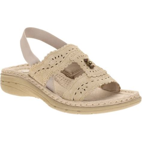 walmart sandals womens earth spirit s juniper sling back sandals