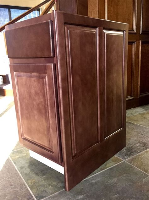kitchen cabinet side panels sd epb24d dimension cabinets sundance decorative base