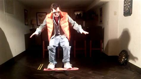 marty mcfly hoverboard halloween costume youtube