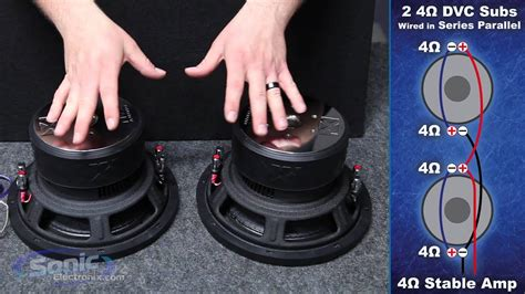 wire  dual  ohm subwoofers    ohm final