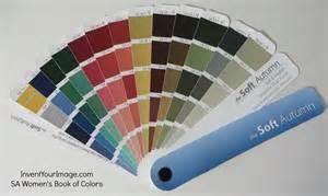soft autumn color palette soft autumn book of colors invent your image