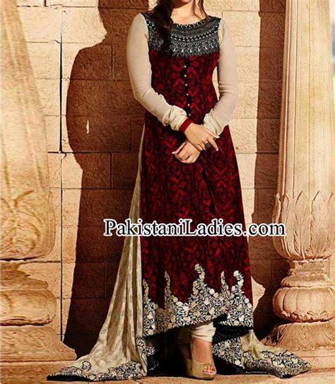 new fashion pajama farak 2015 pakistan beautiful tail frock with choori pajama for girls wedding