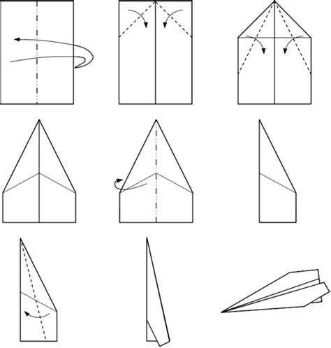 How To Make A Paper Dart - read up on the fascinating history of origami airplanes