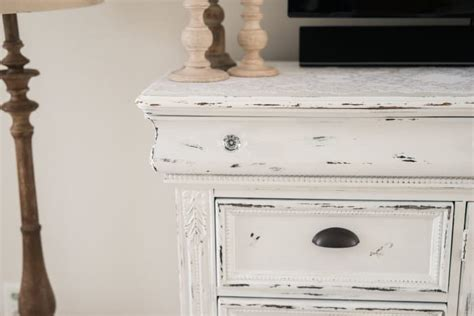 how to distress cabinets yourself diy distressed tv console cabinet lynzy co
