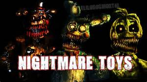 Nightmare toy freddy chica y bonnie teasers five nights at freddy s 4