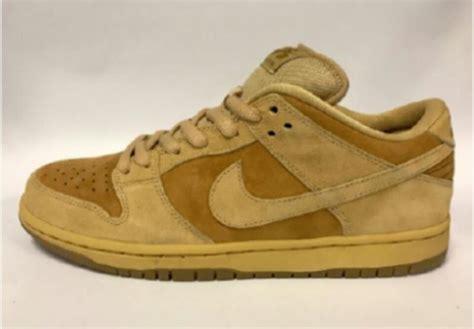 Sepatu Sneakers Nike Blazer Wheat Leather Original nike sb dunk low wheat 2017 release date sneaker bar detroit