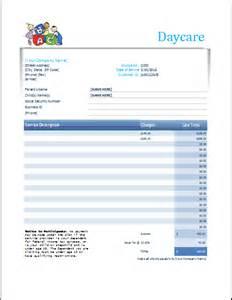 daycare receipt template child care receipt template word studio design
