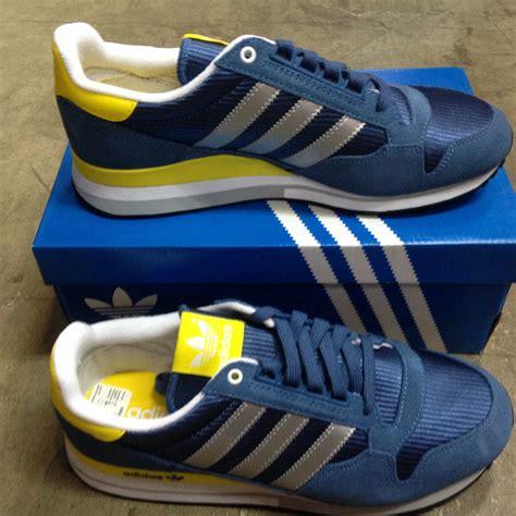Adidas Biru Sepatu Casual Pria jual adidas zx 500 og biru size 44 2 3 sepatu casual