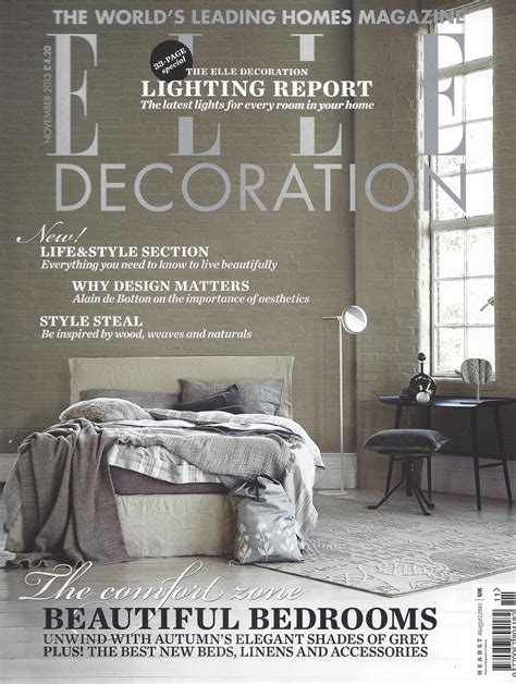 british home design magazines elle decoration
