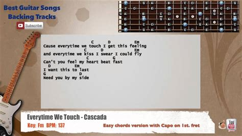 Everytime We Touch Guitar Chords