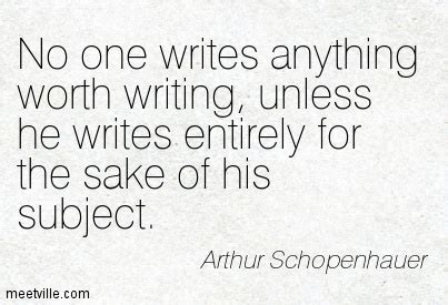 no one writes to 0241968739 no one writes anything worth writing un by arthur schopenhauer like success