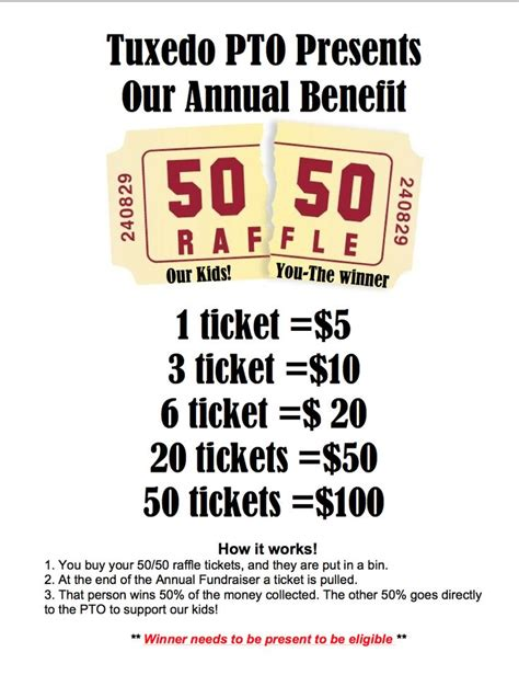 50 50 raffle ticket template 17 best ideas about fundraiser baskets on