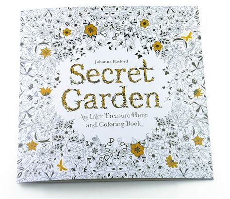 fixed in time color edition books secret garden 24 pages edition coloring book for