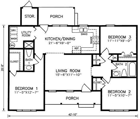 100 two story master suite 100 one story floor plano de caba 241 a de 100 m2 con 3 dormitorios