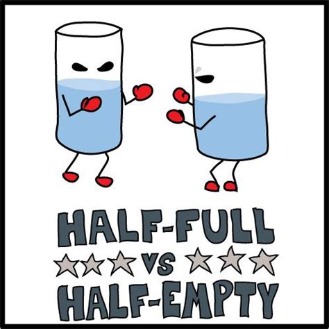 s glass half books is your s op glass half or half empty supply chain