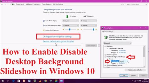 how to cancel windows 10 how to enable disable desktop background slideshow in