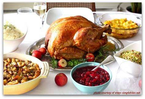 traditional thanksgiving dinner menu recipe girl