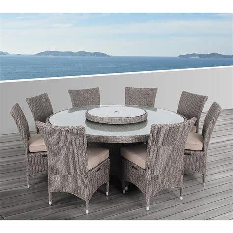 ove decors habra ii 9 piece aluminum round outdoor dining